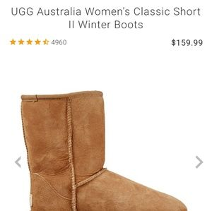 UGG Short Boots Size (7)